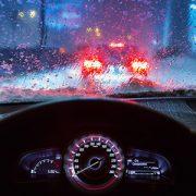 رانندگی در هوای بارانی و برفی