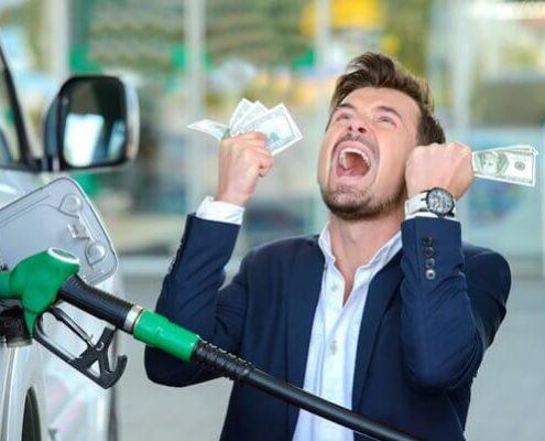 کاهش مصرف بنزین وصرفه جویی در هزینه ه